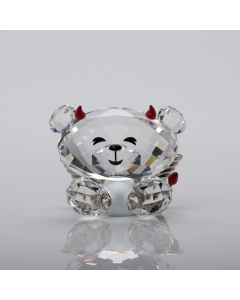 Swarovski Figurine Bo Bear Naughty But Nice 1143382